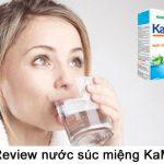 Review nước súc miệng KaM có tốt không?