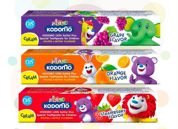 Review kem đánh răng Kodomo dành cho trẻ em có tốt không?