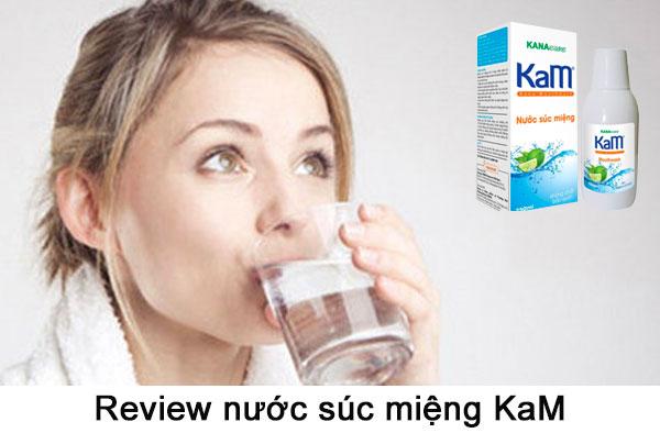 Review nước súc miệng KaM có tốt không từ chuyên gia và khách hàng
