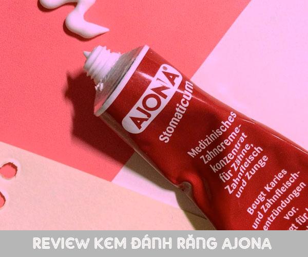 Review kem đánh răng Ajona có tốt không từ chuyên gia và khách