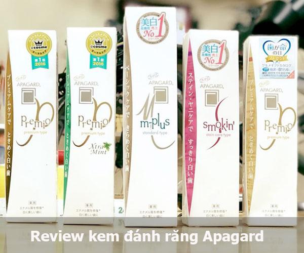 Tư vấn nha khoa | Review kem đánh răng Apagard có tốt không?