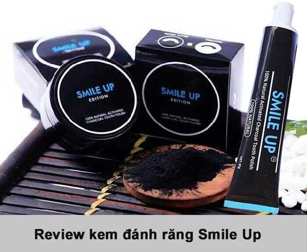 Review kem đánh răng than hoạt tính Smile Up có tốt không?
