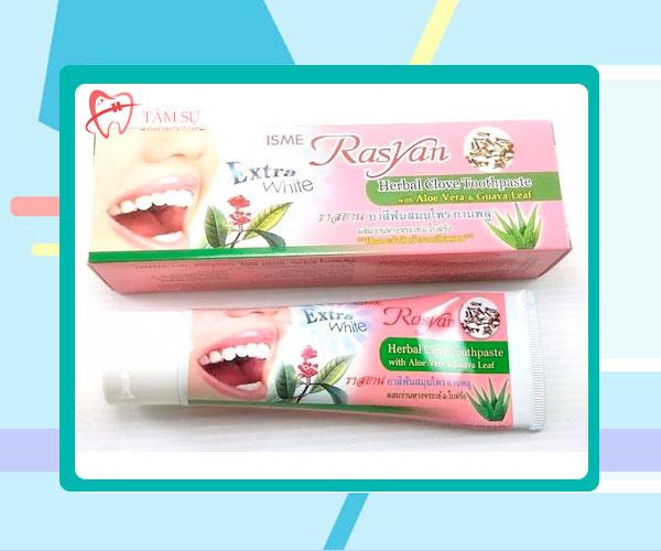 Review kem đánh răng Rasyan có tốt không từ chuyên gia và người tiêu dùng